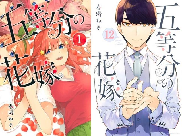 Gotoubun no Hanayome / The Quintessential Quintuplets Será Concluido no 14º Volume
