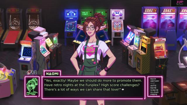 Decision Making in Arcade Spirits
