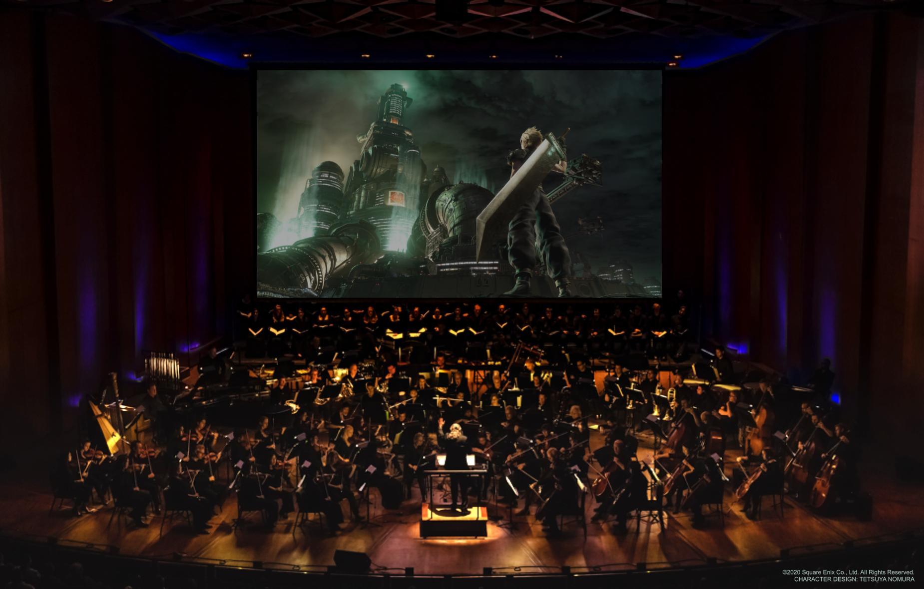 Gira mundial de Final Fantasy VII Remake Orchestra