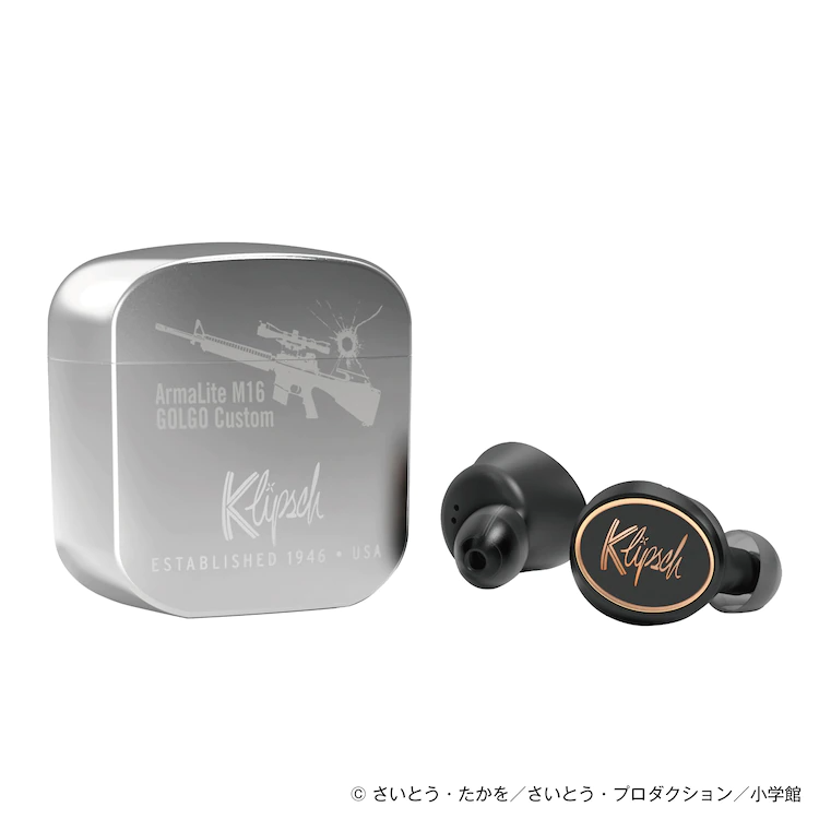 Golgo 13 Earbuds and Case