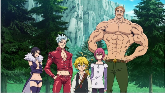 Image result for seven deadly sins wrath of the gods episode 1
