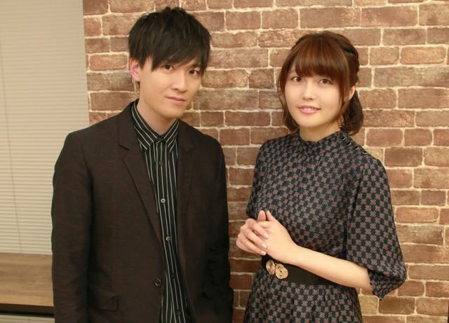 Tasuku Hatanaka and Sayaka Senbongi