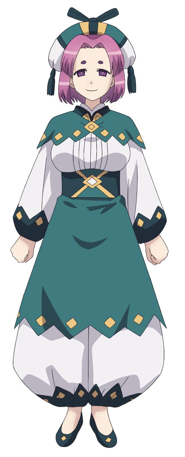 A character visual of Bakura, a pillow tsugumomo from the upcoming Tsugu Tsugumomo TV anime.