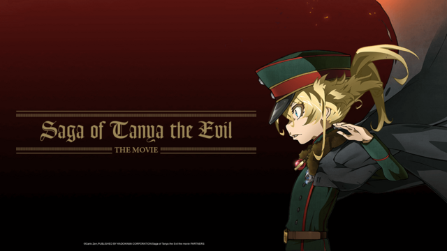 Saga of Tanya the Evil-Film nur am Dienstag im Kino!