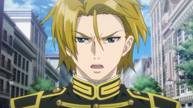 Claude from the To the Abandoned Sacred Beasts TV anime glares at the subject of his displeasure.