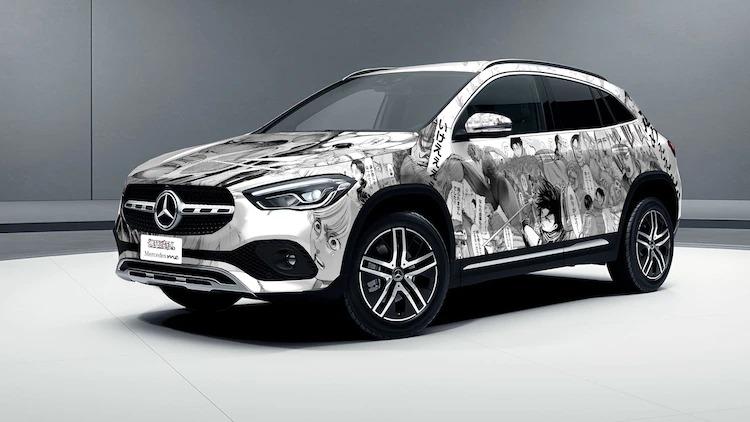 Ataque a los titanes x Mercedes-Benz