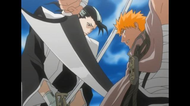 Bleach, Ichigo vs. Byakuya
