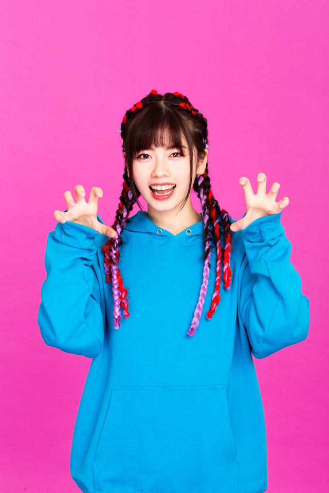 Actress Fuka Koshiba stars as Minori Inaho in the Rapper ni Kamaretara Rapper ni Naru TV drama.