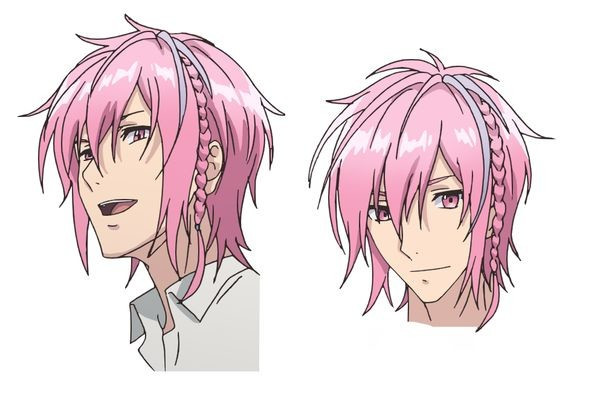 Pearce Valentine Shotani, a pink-haired first year student with above average athletic abilities.