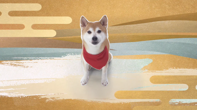 A live-action Shiba Inu plays the lead character in a teaser trailer for the Oda Shinamon Nobunaga TV anime.