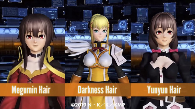 Phantasy Star Online 2 x KONOSUBA