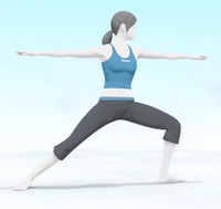 Wii Fit Trainer Butt