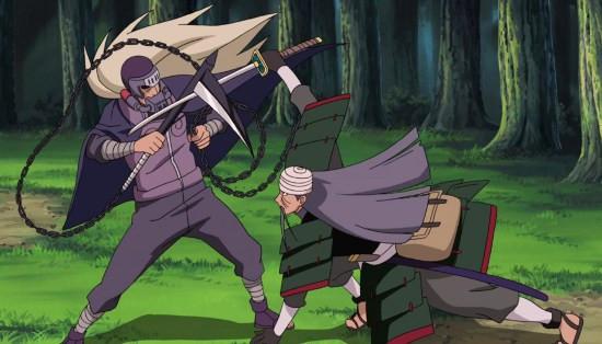 Watch Naruto Shippuden Episode 272 Online - Mifune vs. Hanzo   Anime-Planet