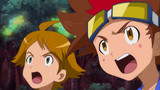 Digimon Xros Wars - The Young Hunters Who Leapt Through Time Episode 76
