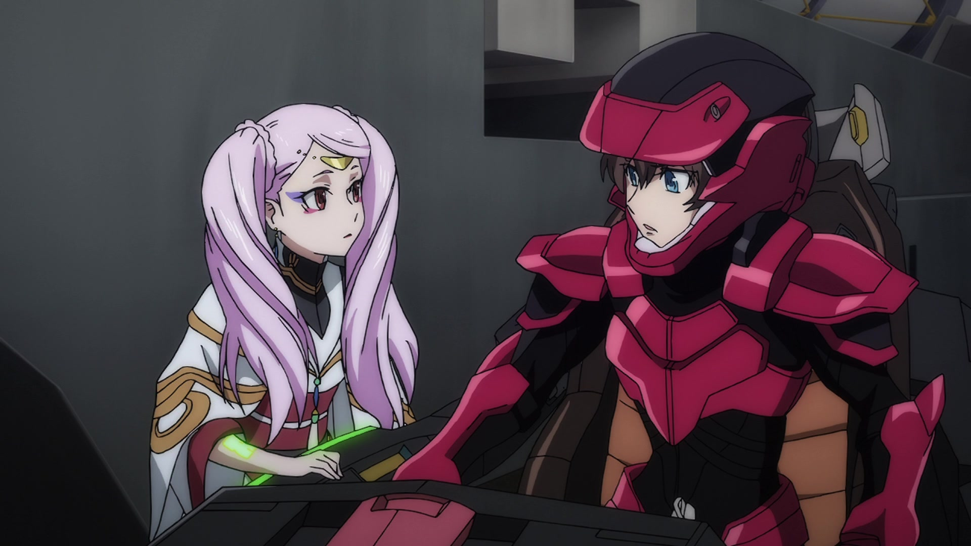 Valvrave The Liberator Second Season 第19話 Sadness Is Like The