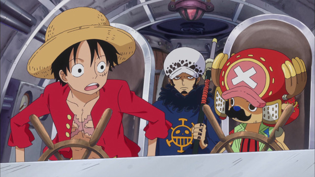 One Piece: Punk Hazard (575-629) Episode 626, Caesar Goes Missing
