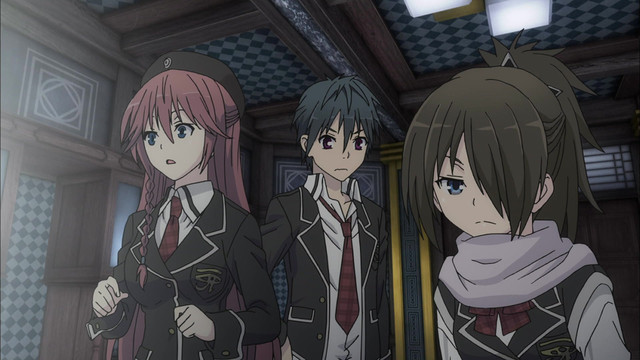 Watch Trinity Seven Episode 4 Online - Labyrinth And Magic