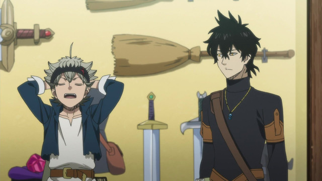 Black Clover Episode 4, The Magic Knights Entrance Exam