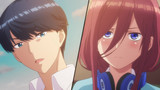 The Quintessential Quintuplets (Go-Toubun no Hanayome) Episodio 2