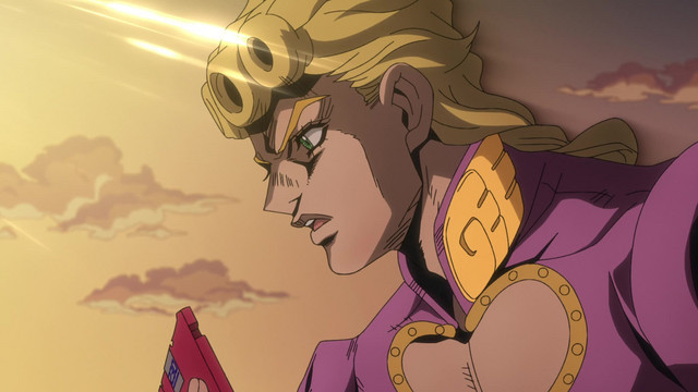 JoJo's Bizarre Adventure: Golden Wind Episode 19, White Ice