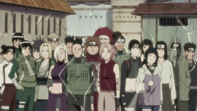 Naruto Shippuden: The Assembly of the Five Kage Episode 200