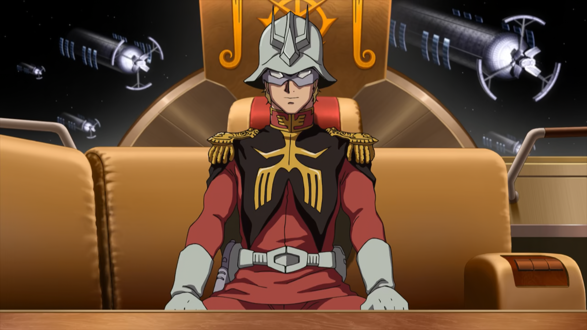 Char Aznable in Mobile Suit Gundam: the Origin