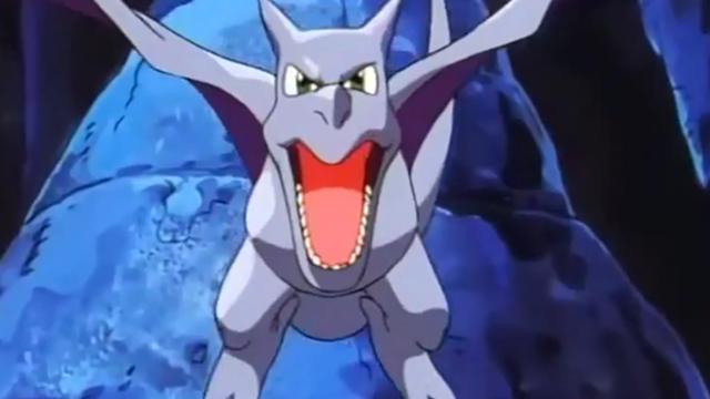 Aerodactyl, Pokémon