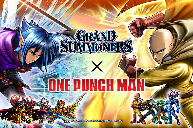 Grand Summoners x One-Punch Man