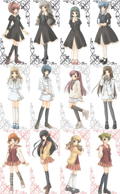 crunchyroll forum best school uniform from any anime