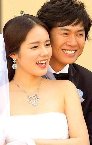 Han Ga In This Is The Real Wedding Of Ha Gain With I Forgot His Name