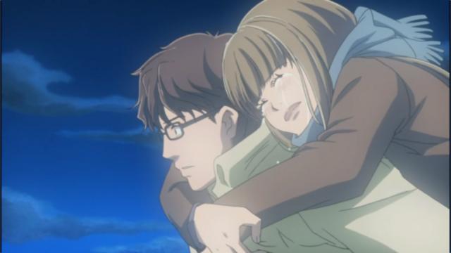 Yamada menangis di seluruh Mayama, yang brengsek