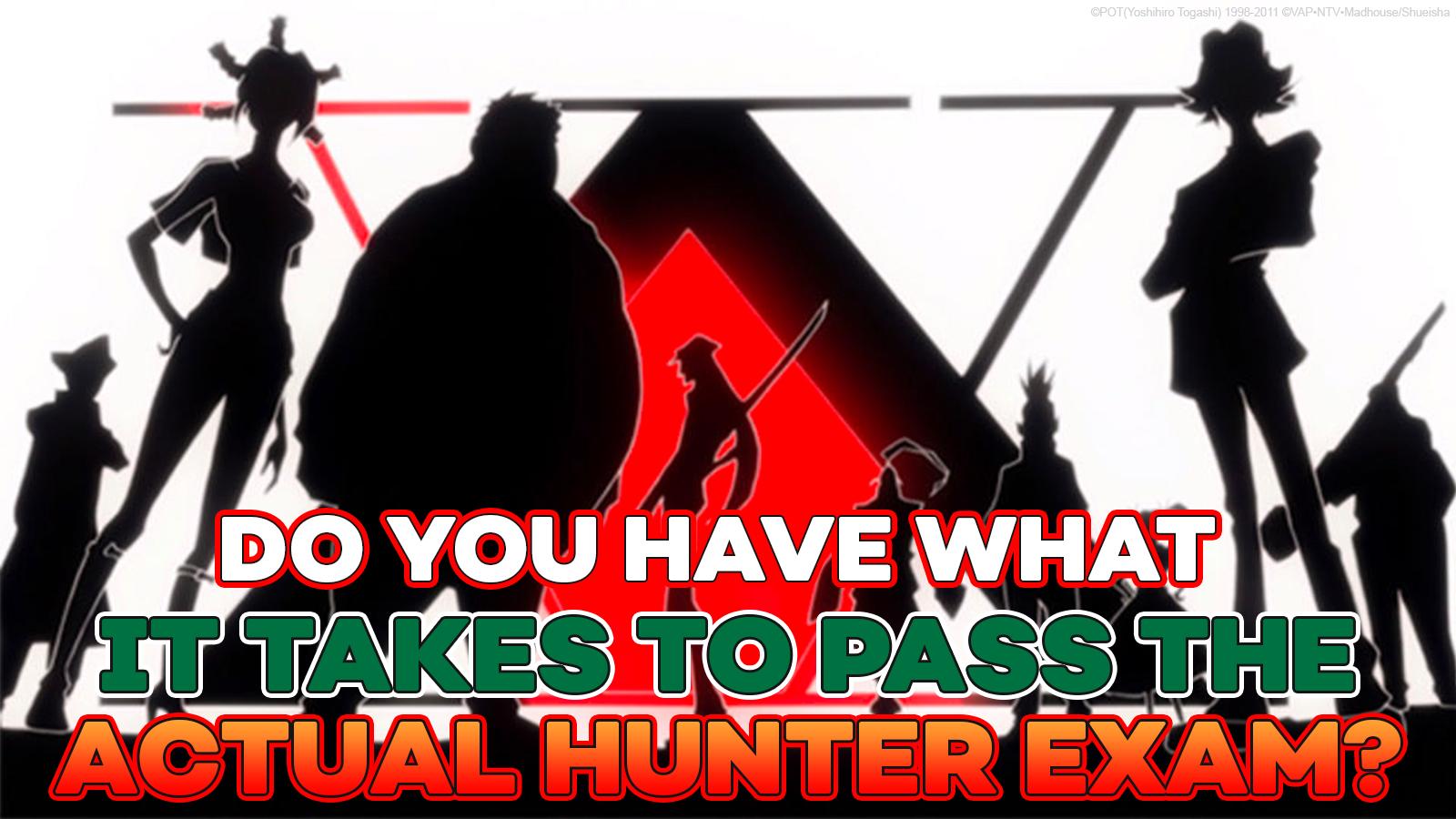 Examen de cazador