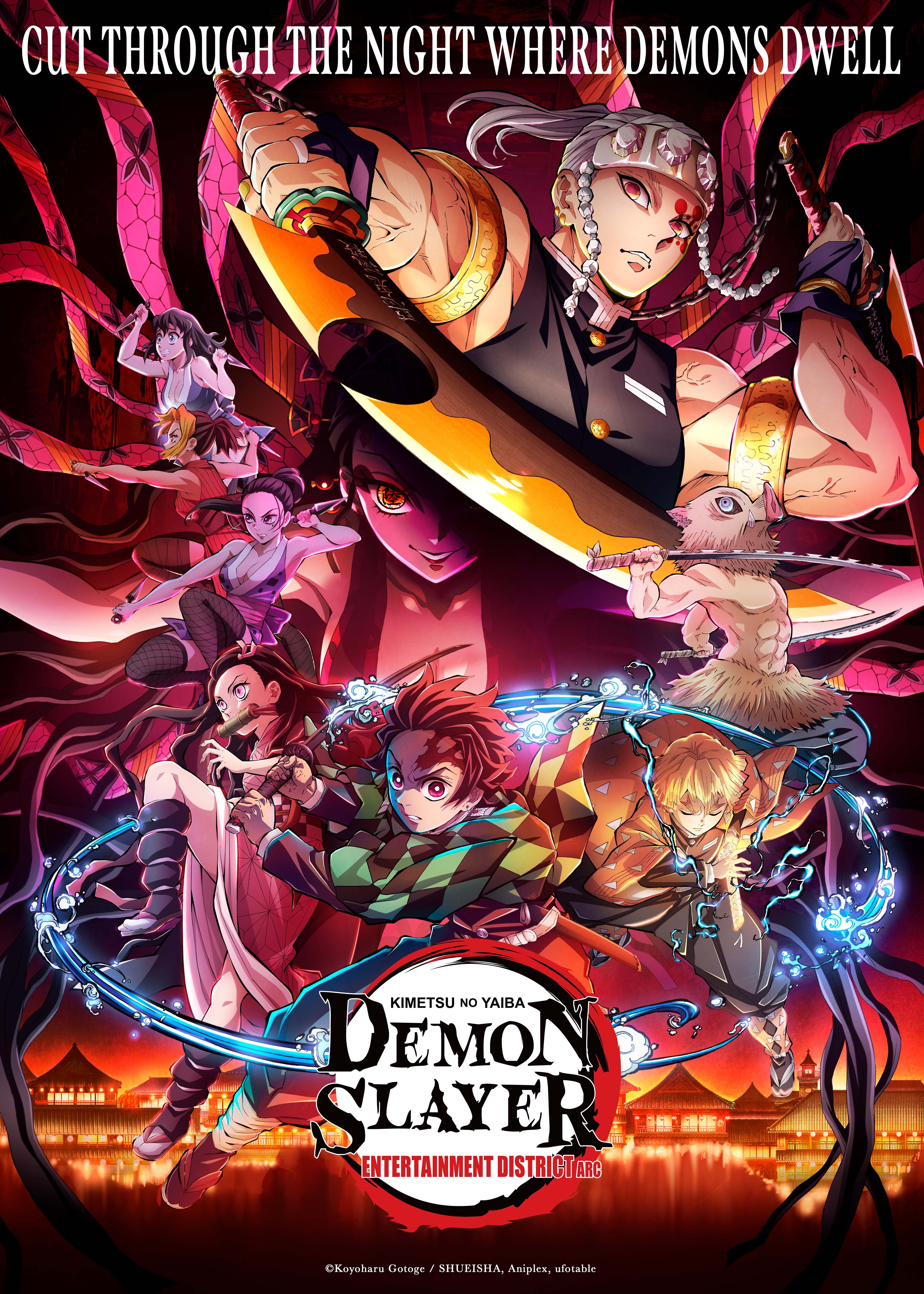Demon Slayer: Kimetsu no Yaiba Entertainment District Arc