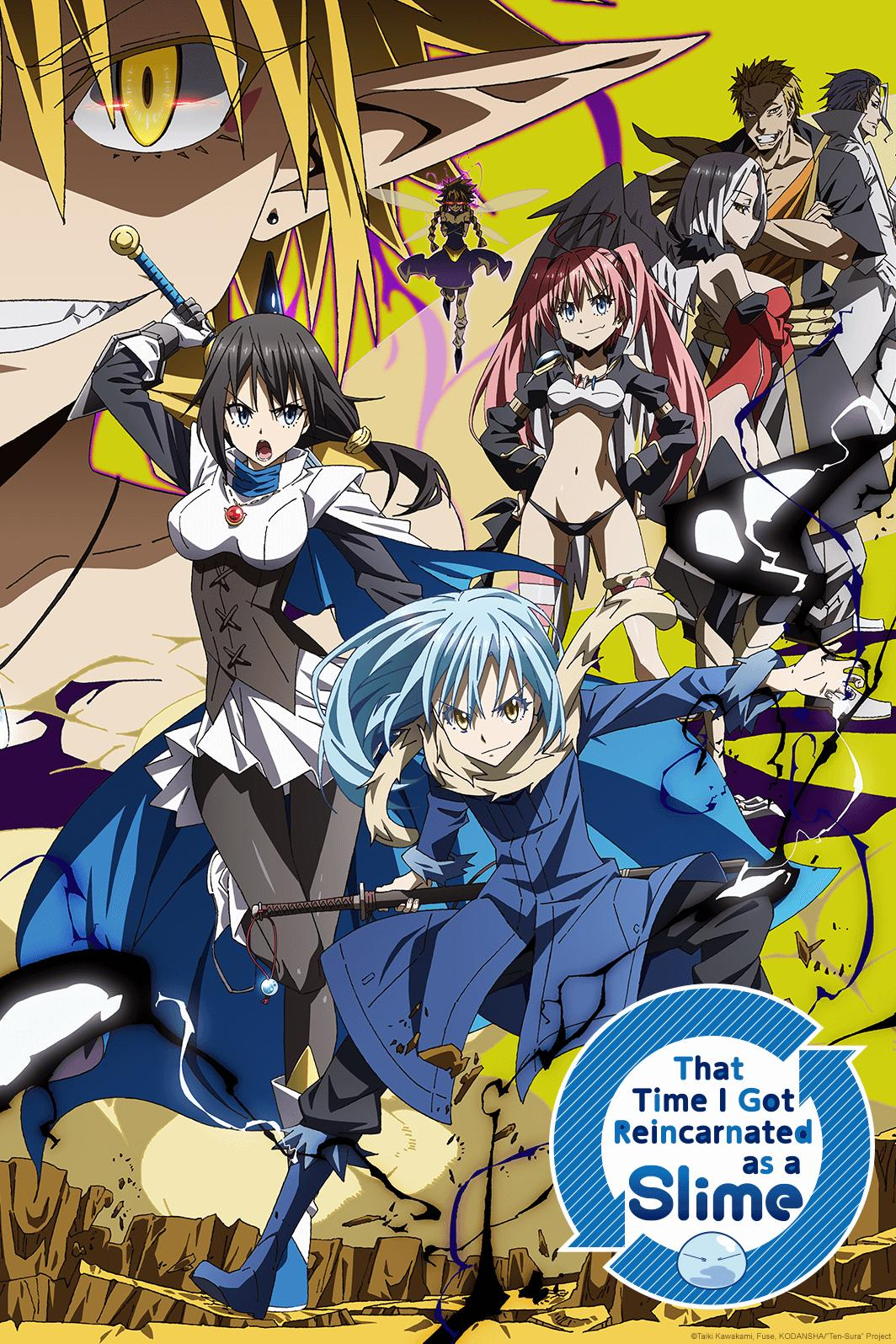 That Time I Got Reincarnated as a Slime Reviews - Crunchyroll
