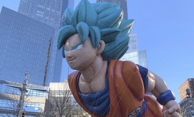 Goku's Thanksgiving Day Parade