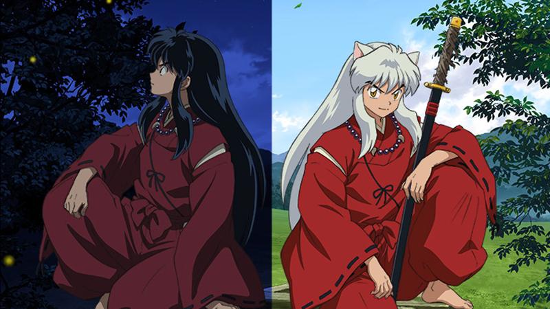 Human and half-demon Inuyasha