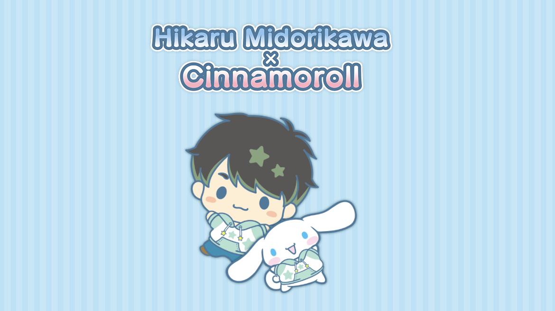 Hikaru Midorikawa x Cinnamoroll