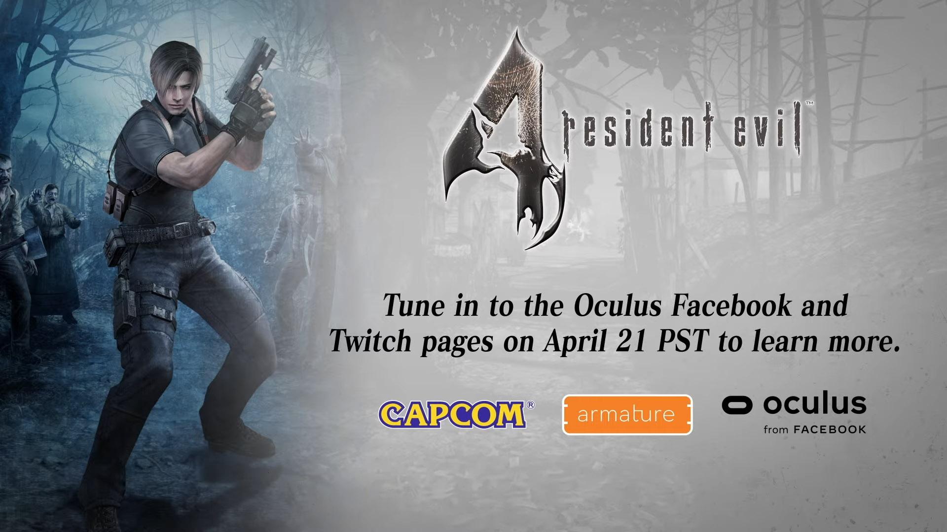 Resident Evil 4 Oculus Quest 2