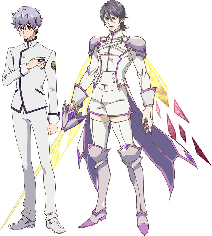 "A character setting of Ranmaru Aoi and his fabulous ""YouseI"" battle form from the upcoming Fairy Ranmaru ~Anata no Kokoro Otasuke Shimasu~ TV anime."