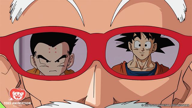 Krillin and Goku