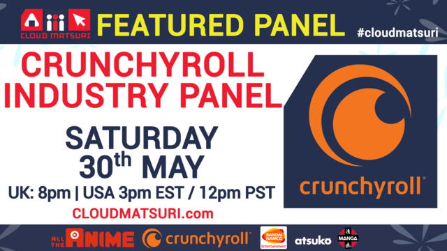 Crunchyroll Industry Panel at Cloud Matsuri