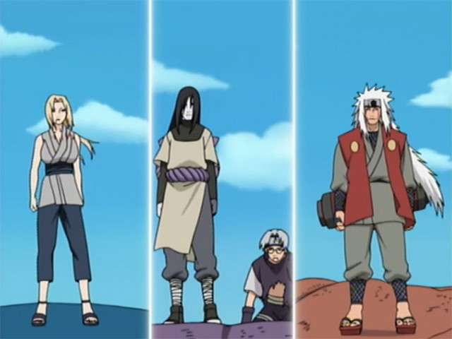 The legendary Sannin