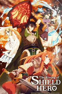The Rising of the Shield Hero is a featured show.