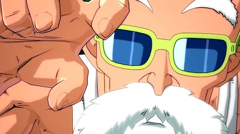 Master Roshi Dragon Ball FighterZ