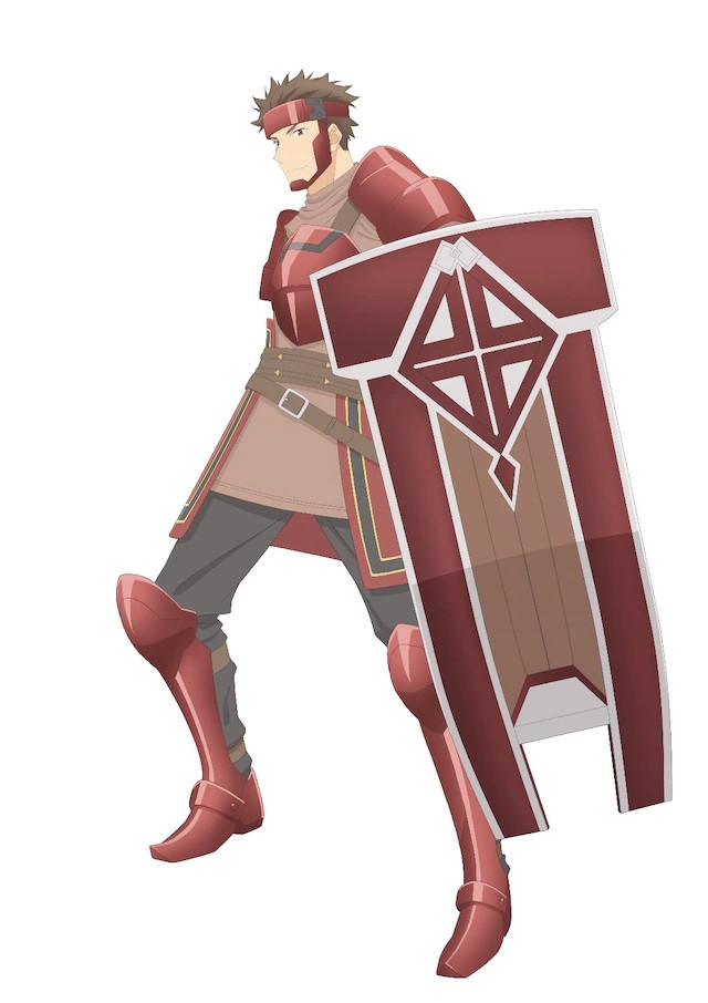 A character visual of Chrome, the top player from the upcoming Itai no wa Iya nanode Bougyoryoku ni Kyokufuri Shitai to Omoimasu. TV anime.