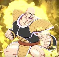 crunchyroll nappa unleashes saibamen in dragon ball fighterz trailer