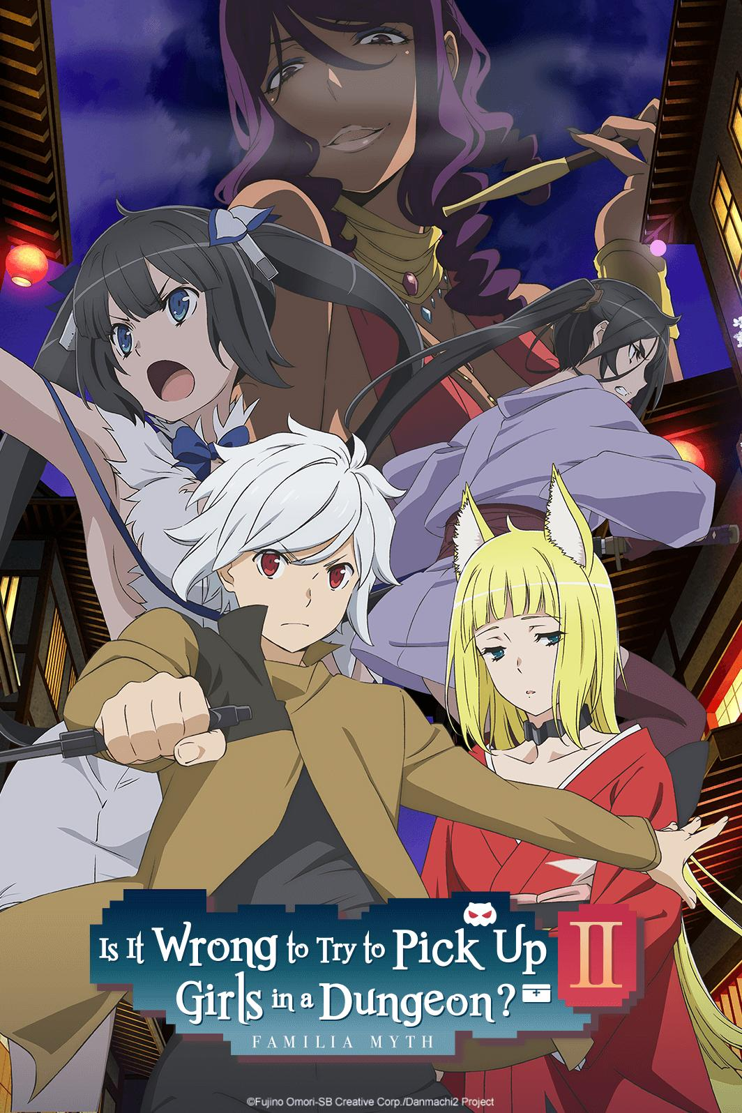 DanMachi (Is It Wrong to Try to Pick Up Girls in a Dungeon?) Sezona 2 Epizoda 8