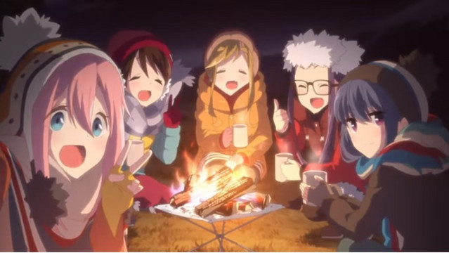 Crunchyroll - Check Out Laid-Back Camp Girls' Activity Record with ...