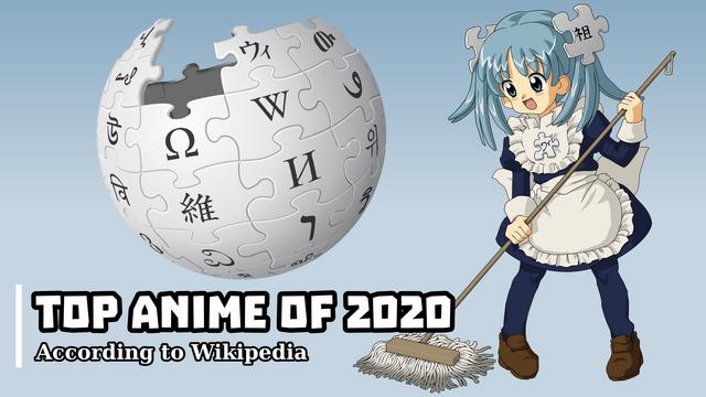 Top Anime on Wikipedia