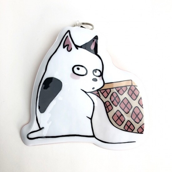 Urusei Yatsura pass case: Kotatsu Cat